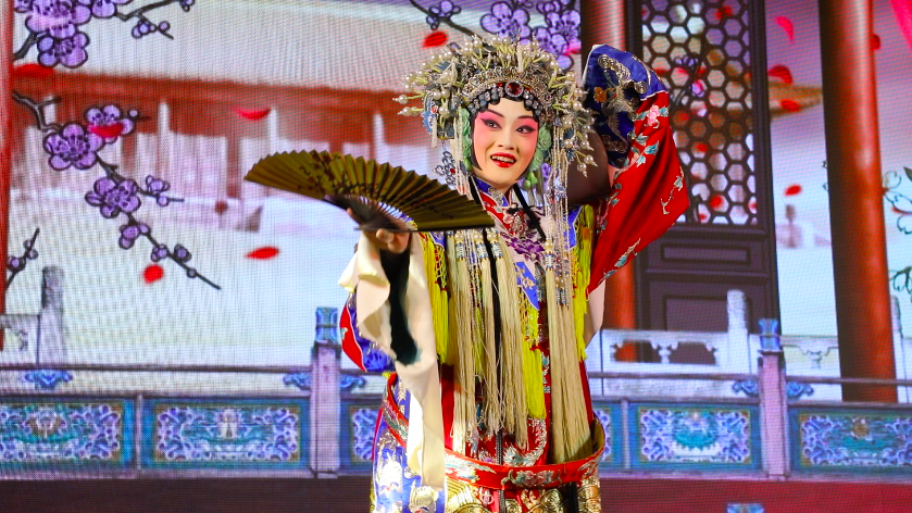 Chinese mask dancer