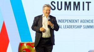 Julian Boulding opens the Indie Summit